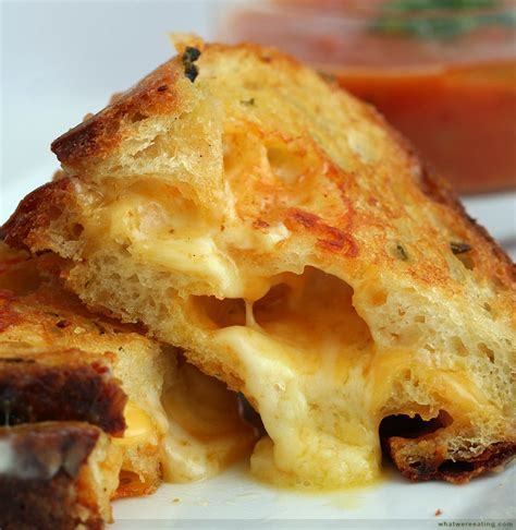 artisan grilled cheese 3 cheeses oozing from a crusty artisan jalapeno loaf 171 what we re eating a food recipe blog