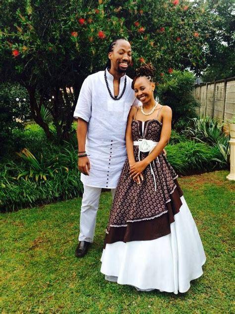 pictures basotho traditional wedding dresses