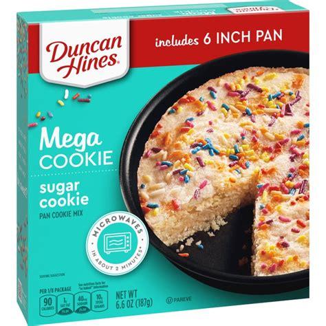 Duncan hines mug cakes cinnamon coffee cake mix 10.3 oz. Duncan Hines Mega Sugar Cookie Mix (6.6 Ounces) | Duncan ...