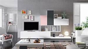 Meuble Tv Etagere : 35 id es pour le meuble t l design moderne ~ Teatrodelosmanantiales.com Idées de Décoration