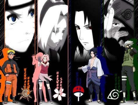 gambar wallpaper naruto sakura sasuke kakashi lampu kecil