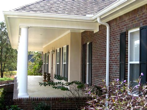 front porch home plans colonial house plan front porch photo plan 028d 0018 house plans and more