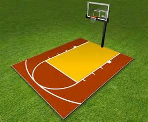 Flooring For Badminton Court by 25 Best Ideas About Backyard Basketball Court On