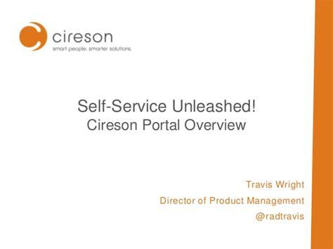 Cireson's Self-service Portal Unleashed!