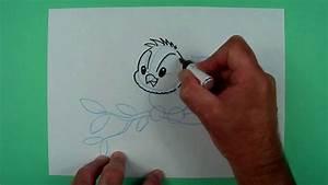 Wie Fängt Man Eine Maus : wie malt man einen vogel zeichnen f r kinder youtube ~ Markanthonyermac.com Haus und Dekorationen