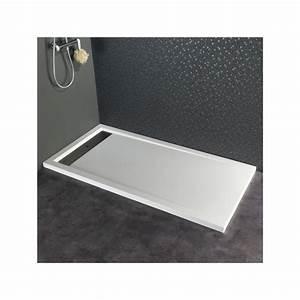 Receveur Extra Plat 160x90 : receveur extra plat poser contemporain 80x160 blanc 523031 ~ Edinachiropracticcenter.com Idées de Décoration