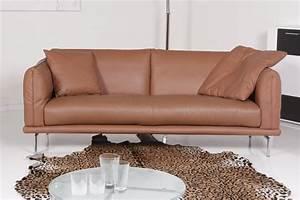 Couch 3 Sitzer Leder : machalke sofa ledersofa denver 3 sitzer sofa leder farbe copper ebay ~ Bigdaddyawards.com Haus und Dekorationen