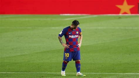 Messi blasts 'weak' team after Barcelona lose league title ...