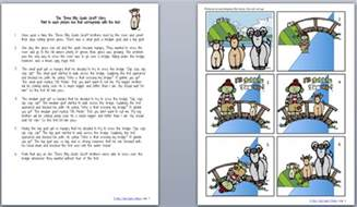 three billy goats gruff story printable three billy goats gruff power speech