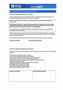 Essay Transitional Words Ielts Writing Task 2 Problem And Solution Brainstorming