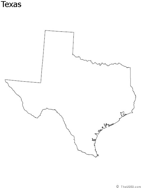 view  blank state outline maps