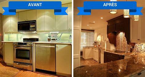 renovation de cuisine rénovation de cuisine armoires cuisines