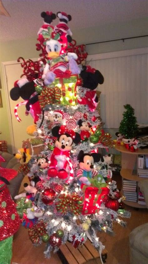 mickey  minnie christmas tree  mickey