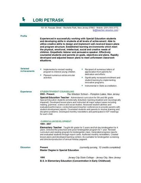 Planning Student Resume by Teachers Cv Http Www Teachers Resumes Au Whether You Are Applying For An Advancements