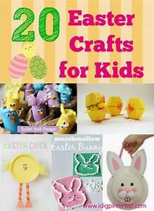 I Dig Pinterest: 20 Fun & Simple Easter Crafts for Kids