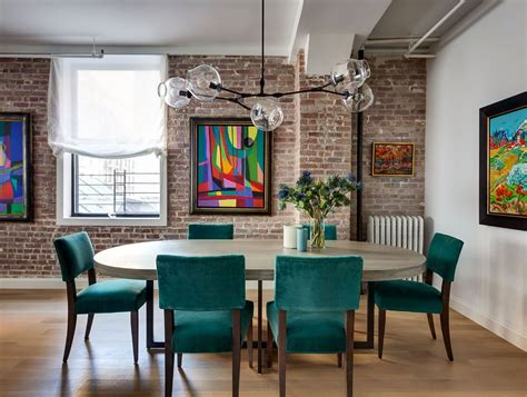 Homes With A Colorful City Vibe by Colorful Flatiron Loft Pictures Modern Nyc Home Tour