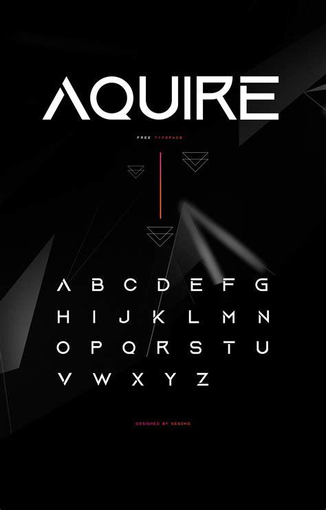 Aquire Font | Sesohq | FontSpace