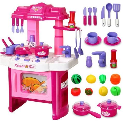 kitchen set toys big kitchen cook set play pretend kitchen set