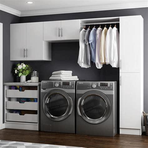Modifi Horizon 105 In W White Laundry Cabinet Kitenl105