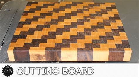 End Grain Cutting Board (with Cool Pattern)
