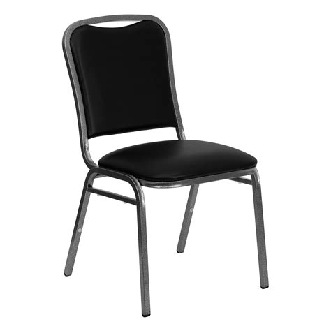 Hercules Stacking Banquet Chairs by Flash Hercules Series Stacking Banquet Chair With Black