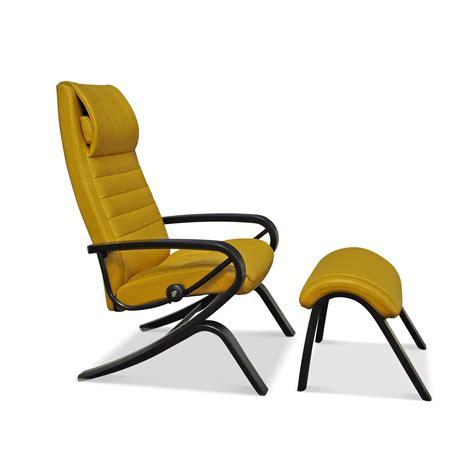 sessel leder gelb design bild designer sessel gelb
