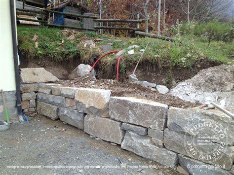 Come Fare Un Terrazzamento by Muri A Secco Per Terrazzamenti Realizzati In Val Di Cembra