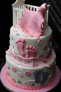 Make A Baby Shower Cakes For Girls FREE Printable Baby