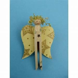Bastelideen Weihnachten Kinder : bastelideen weihnachten kinder einen engel mit einer rundkopfklammer basteln die anleitung ~ Markanthonyermac.com Haus und Dekorationen