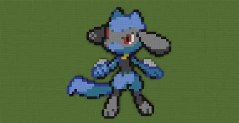 Sinnoh Pokemon Pixel Art On Minecraft-pixelart
