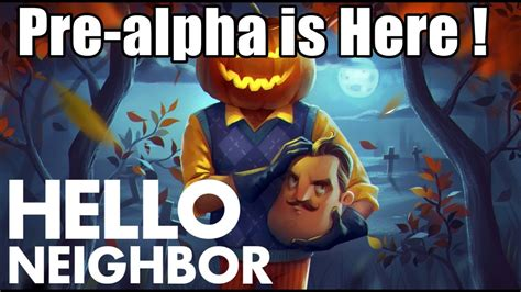 hello neighbor pre alpha basement trailer