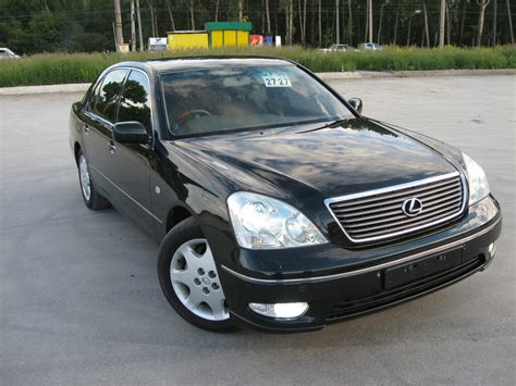 2000 Lexus Ls430 Pictures 43l Gasoline Fr Or Rr