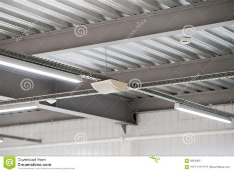 Installation Of Lighting Fixtures Suspended Ceiling Stock