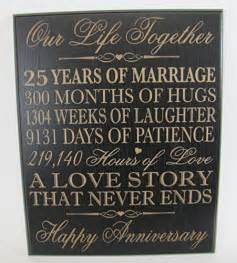 gifts for 25th wedding anniversary 25 best ideas about 25th anniversary gifts on silver anniversary gifts 25 year