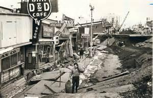 Great Alaska Earthquake 1964 Damage