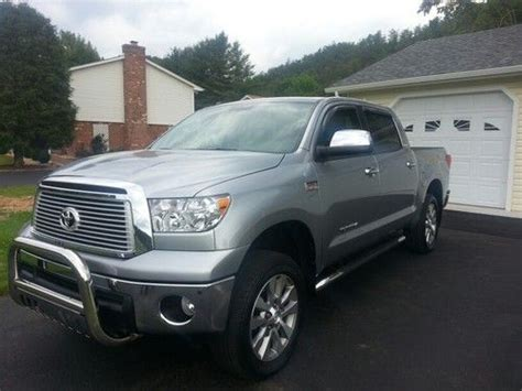 Toyota Platinum Warranty by Find Used 2012 Toyota Tundra Crewmax Platinum 4x4 Only