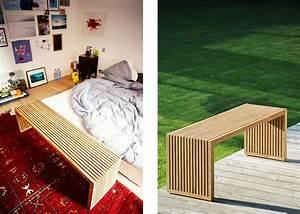 Banc Design Interieur : banc de qualit en teck certifi fsc chez ksl living ~ Teatrodelosmanantiales.com Idées de Décoration