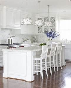 Benjamin Moore White Dove Cabinets - Transitional