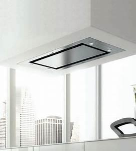 hotte de plafond inspiration 3 fx 1000 sans moteur inox With hotte plafond moteur deporte