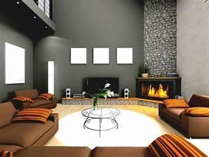 Braune Möbel Wandfarbe : graue m bel kombinieren raum und m beldesign inspiration ~ Markanthonyermac.com Haus und Dekorationen