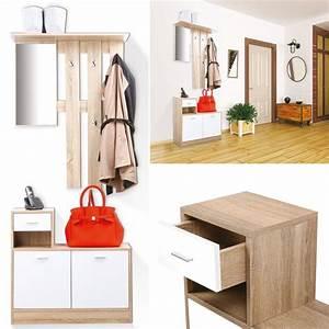 Vestiaire D Entrée Ikea : vestiaire d 39 entr e avec miroir design h tre portes blanches meuble ~ Teatrodelosmanantiales.com Idées de Décoration