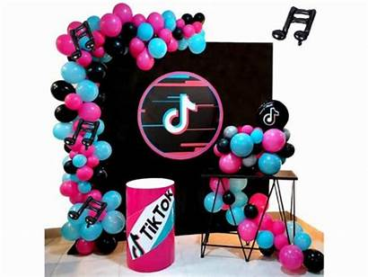 Tik Tok Balloon Garland Arch Decorations Birthday