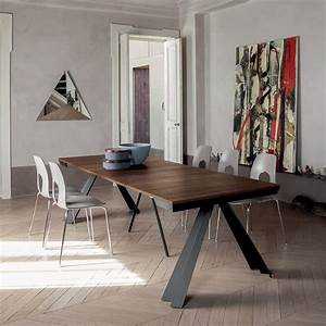 Table Bois Metal Avec Rallonge : ventaglio c 6509 table console rallonge tonin casa en m tal et m lamin disponible en ~ Melissatoandfro.com Idées de Décoration