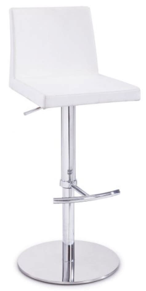 modrest salton modern white bar stool