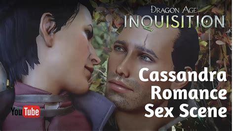 Dragon Age Inquisition Cassandra Romance Sex Scene Youtube