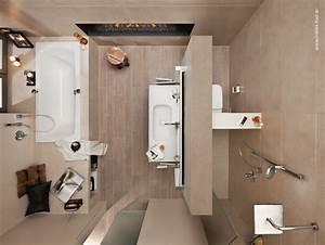 Bad Grundrisse Beispiele : diana bad 10 qm von oben mit t wand bad grundrisse badezimmer amaturen badezimmer und ~ Orissabook.com Haus und Dekorationen