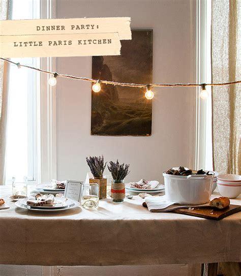 Dinner Party Little Paris Kitchen & Cookbook Giveaway