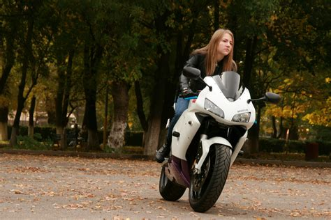 Girl, Car, Vehicle, Motorcycle, Ride, Blonde