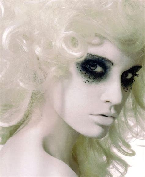 inspiration   white ghostly makeup inspiration