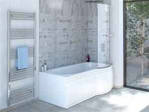 Eckbadewanne Mit Dusche : duschbadewanne 170x85 cm r mit badewannenaufsatz badewanne mit ~ Markanthonyermac.com Haus und Dekorationen